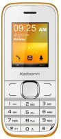 Karbonn K45+ Chota Jumbo(White & Orange)
