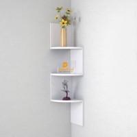 View Masterwood small zig zag MDF Wall Shelf(Number of Shelves - 3, White) Furniture (Masterwood)