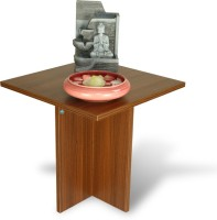 View Delite Kom Lily Engineered Wood Side Table(Finish Color - Acacia Dark Matt) Furniture (Delite Kom)
