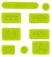 View Pashay USB Green Anti-dust Plug(Laptop Pack of 9) Laptop Accessories Price Online(PASHAY)