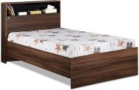 View Delite Kom Urban Engineered Wood Single Bed(Finish Color -  Acacia Dark matt finish) Furniture (Delite Kom)