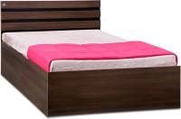 View Delite Kom Cocoa Engineered Wood Single Bed With Storage(Finish Color -  Black & Acacia Dark Matt Finish) Furniture (Delite Kom)