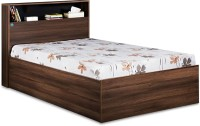 View Delite Kom Urban Engineered Wood Single Bed With Storage(Finish Color -  Acacia Dark matt finish) Furniture (Delite Kom)