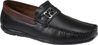 Xtreme Mens Black Synthetic Leather Loafers(Black)
