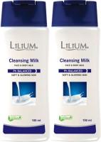 LILIUM Lilium Regular Cleansing Mlik 100ml Pack of 2(100 ml)
