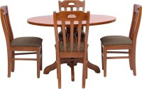 View shop klass Solid Wood 4 Seater Dining Set(Finish Color - teak) Furniture (shop klass)