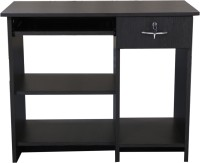 View Crystal Furnitech Engineered Wood Study Table(Free Standing, Finish Color - Wenge) Furniture (Crystal Furnitech)
