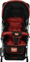 Babymate HUMMINGBIRD -RED & BLACK STROLLERS -211(Multi, Multicolor)