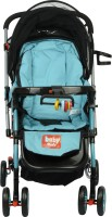 Babymate FLAMINGO -BLACK & BLUE STROLLERS -217(Multi, Multicolor)