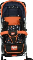 Babymate HUMMINGBIRD -ORANGE & BLACK STROLLERS-211(Multi, Multicolor)