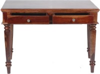 View Vintej Home Study Table Solid Wood Study Table(Free Standing, Finish Color - Walnut) Furniture (VINTEJ HOME)