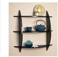 View Huzain Handicrafts wall shelf Wooden Wall Shelf(Number of Shelves - 3, Brown) Furniture (huzain handicrafts)