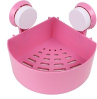 View ALPYOG Bathroom Sleves Plastic Wall Shelf(Number of Shelves - 1, Pink) Furniture (ALPYOG)
