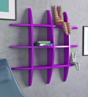 View ALL CRAFTS ART TYRE RANK MDF Wall Shelf(Number of Shelves - 12, Purple) Furniture (ALL CRAFTS ART)