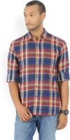 Wrangler Men's Checkered Casual Spread Shirt