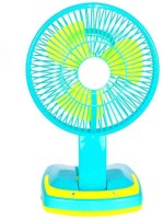 View ShopyBucket Modern Portable Fan Rechargeable Battery Mini Oscillating Clip USB Fan(Multicolor) Laptop Accessories Price Online(ShopyBucket)