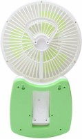 View ShopyBucket Powerful Rechargeable Fan with 21SMD LED lights (Multicolor) WIT-34 USB Fan(Multicolor) Laptop Accessories Price Online(ShopyBucket)
