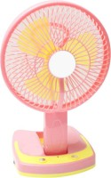 View ShopyBucket SUPER Powerful Rechargeable Fan with LED lights APN-22 USB Fan(Multicolor) Laptop Accessories Price Online(ShopyBucket)