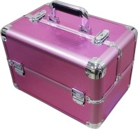 Satisfaction Flora to store cosmetic items Vanity Box(Pink)