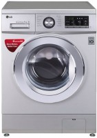 LG 7 kg Fully Automatic Front Load Washing Machine Silver(FH0G6QDNL42)