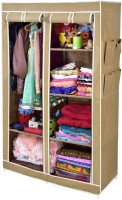 View ARSH AW06-Beige-High Capacity Upto 70Kgs Carbon Steel Collapsible Wardrobe(Finish Color - Beige) Furniture (ARSH)