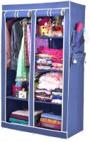 View ARSH AW06-Blue-High Capacity Upto 70Kgs Carbon Steel Collapsible Wardrobe(Finish Color - Blue) Furniture (ARSH)