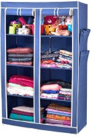 View ARSH AW08-Blue-High Capacity Upto 70Kgs Carbon Steel Collapsible Wardrobe(Finish Color - Blue) Furniture (ARSH)