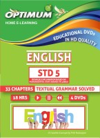 Optimum Educators Educational DVDs MAHARASHTRA BOARD STD 5 ENGLISH(DVD)
