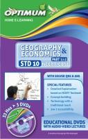 Optimum Educators Educational DVDs STD 10 CBSE/NCERT GEOGRAPHY & ECONOMICS PART 1& 2(DVD)