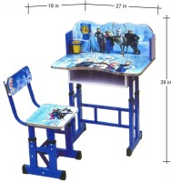 View Kris toy 0 Solid Wood Desk Chair(Finish Color - blue) Furniture