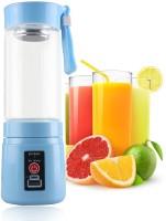 TradeAiza Multifunction Handheld Milkshake Smoothie Maker Rechargeable Juice Blender Portable Usb Electric Fruit Citrus Juicer Bottle. 10 Juicer Mixer Grinder(Blue, 1 Jar)