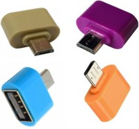 View Smart Micro USB OTG Adapter(Pack of 4) Laptop Accessories Price Online(Smart)