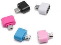 View Smart Micro USB OTG Adapter(Pack of 5) Laptop Accessories Price Online(Smart)