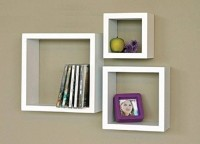 View SG Nice MDF Wall Shelf(Number of Shelves - 3, White) Furniture (SG)