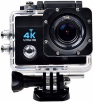 MOBONE Powershot SuperE Sports and Action Camera(Black 12 MP)