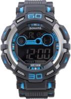 Sonata 77009PP02J Ocean Digital Watch For Men