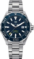 Tag Heuer WAY201B.BA0927 Aquaracer Automatic Blue Dial Calibre 5 Analog Watch  - For Men