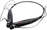 ROOQ HBS730-020 Headset with Mic(Black, In the Ear)