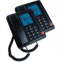 View Sairam Bt-A16 landline Corded Landline Phone(Black) Home Appliances Price Online(Sairam)