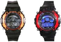 paras combo seven lights BN784 Watch - For Boys