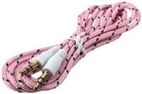 ALFABYTE ABAUX1PN AUX Cable(Pink)