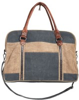 Mona B Up-Cycled Canvas Bag Dash Weekender Bag Travel Duffel Bag(Multicolor)