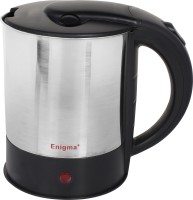 Enigma Multifunction-09 Electric Kettle(1.5 L, Silver,Black)