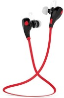 View Vellora Jogger QY7 RD003 bluetooth Headphone(Red, In the Ear) Laptop Accessories Price Online(Vellora)