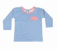 Always Kids Girls Party Cotton Top(Pack of 1)