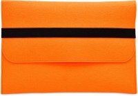 View FemNmas 13 inch Sleeve/Slip Case(Orange) Laptop Accessories Price Online(FemNmas)