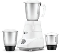 Orient Electric MGKM50G3 500 W Mixer Grinder(White and Grey, 3 Jars)