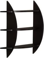 View SG Nice MDF Wall Shelf(Number of Shelves - 1, Black) Furniture (SG)