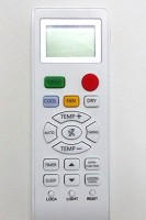Nobita Compactible Ac Remote Control For Haier Air Conditioner Remote Controller(White)