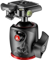 MANFROTTO MANFROTTO MHXPRO-BHQ2 Monopod Kit, Tripod Kit, Tripod Ball Head(BLACK & RED COMBINATION, Supports Up to 10 g)